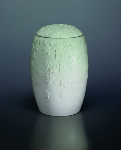 urna porcelanowa las