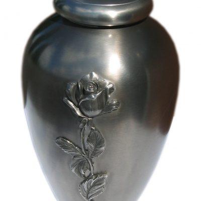 urna cyna róża