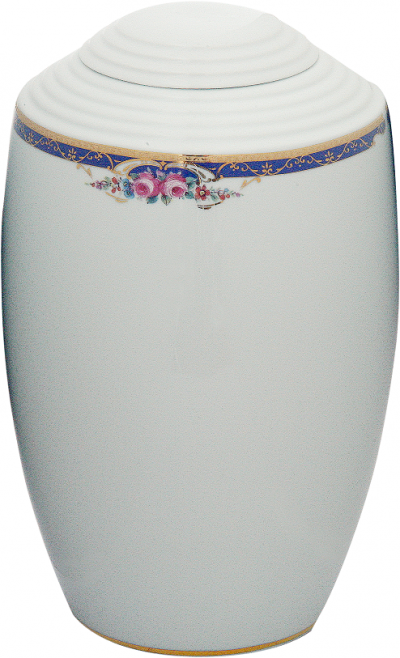 urna porcelanowa GAYA z dekorem