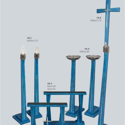 Kaplica SerieVienna Blu