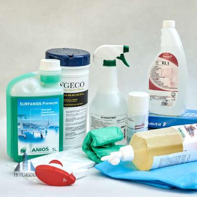 Dezynfekcja, higiena, koronawirus
